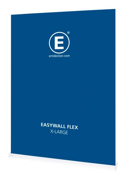 Easywall Flex Stoff X-Large inkl. Druck einseitig
