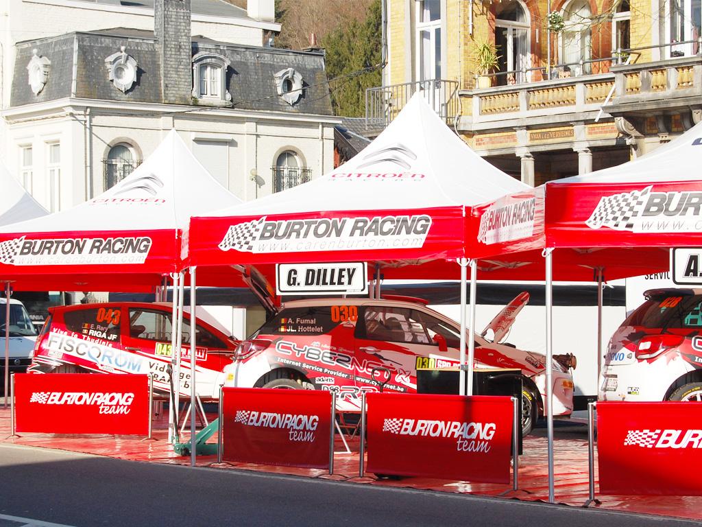 Eventzelte Faltzelt Easydome burton racing
