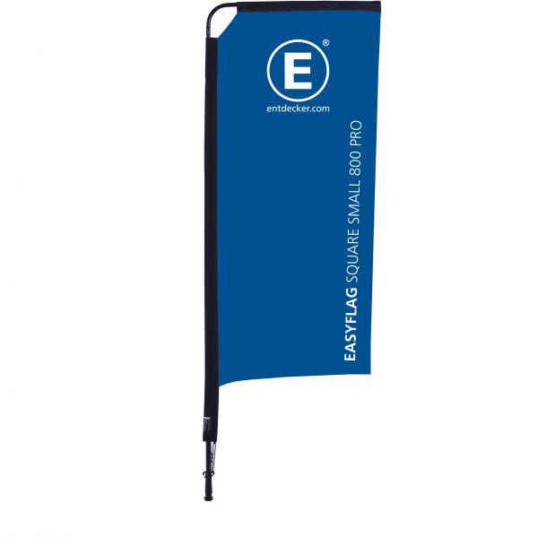 Beachflag Easyflag Square 80 Small PRO doppelseitig