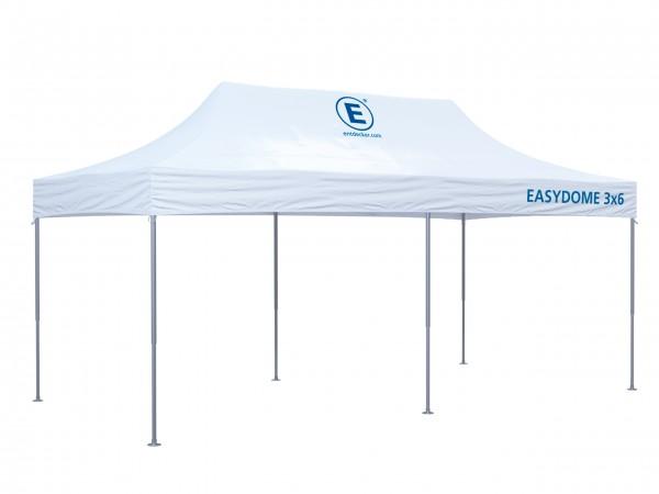 Faltzelt 3x6m Easydome S - Dach mit Teildruck