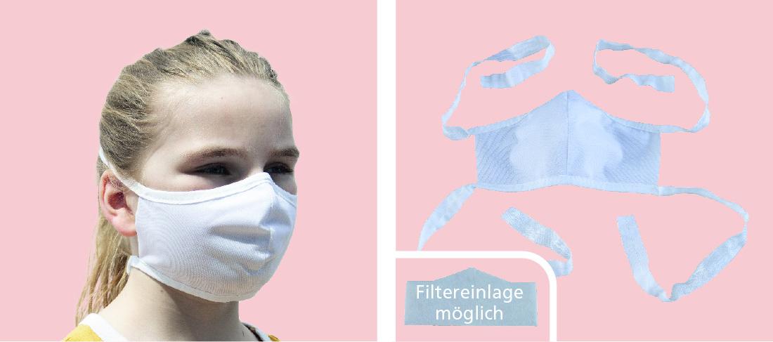 entdecker maske kids elastic