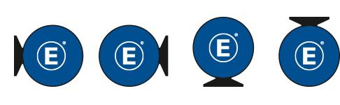 Werbebande Easydisc Flex Versionen