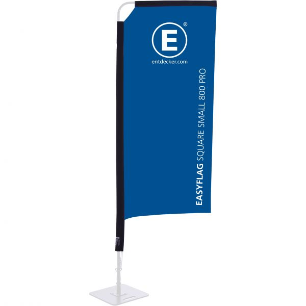 Beachflag Easyflag Stoff Square 80 Small PRO doppelseitig