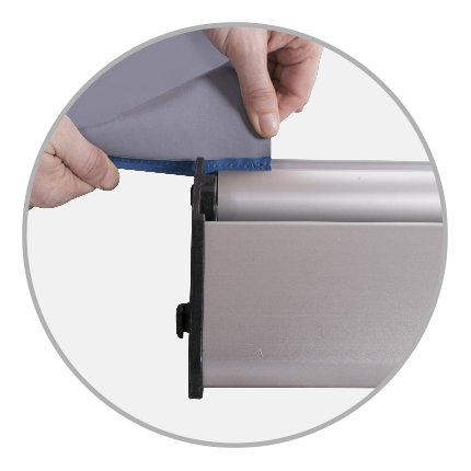 Messewand Easywall Flex Kedersystem
