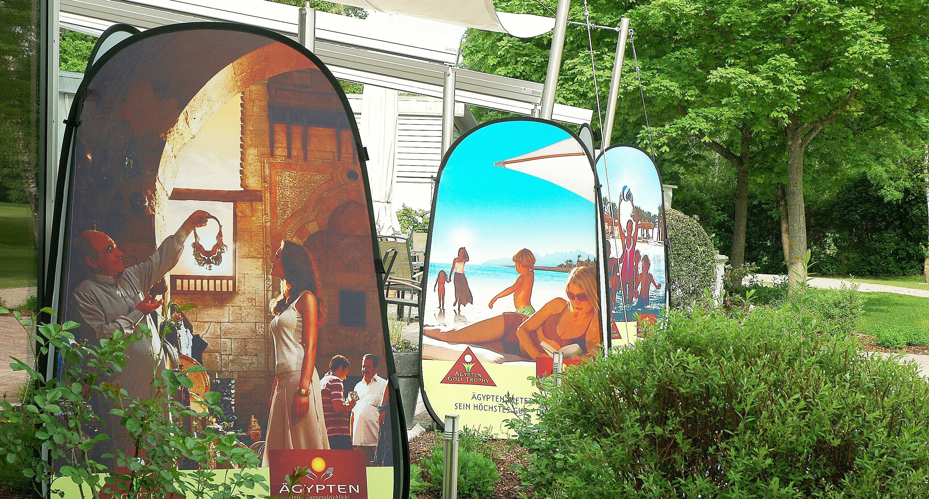 Werbesäule Quicktower Ägypten