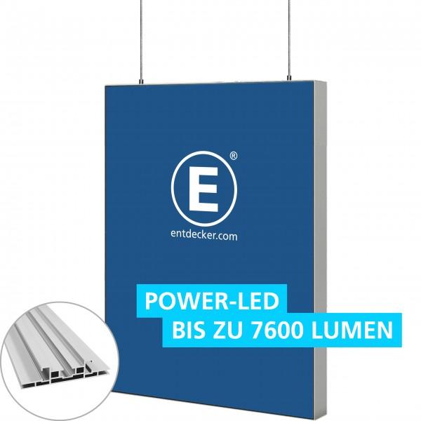 Easyframe 100 Lightbox Double - Deckenhänger