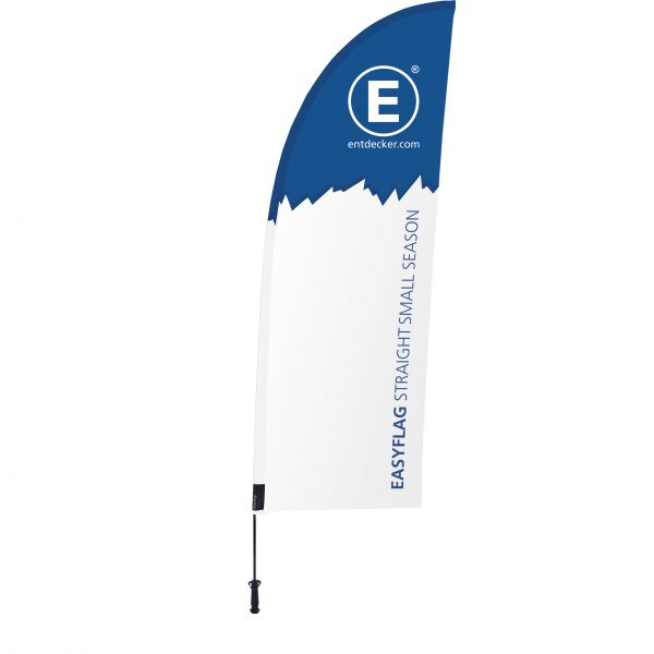 Beachflag Easyflag Set Straight Small SEASON