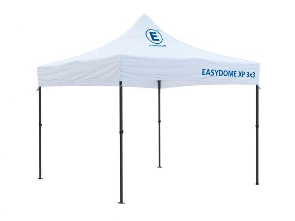 Faltzelt 3x3m Easydome ECO, Dach mit Volldruck
