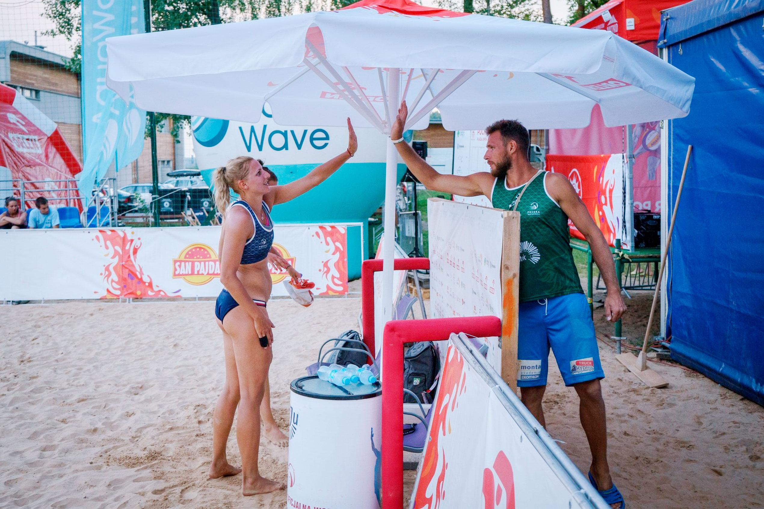 Sonnenschirm Expert Sport-Event