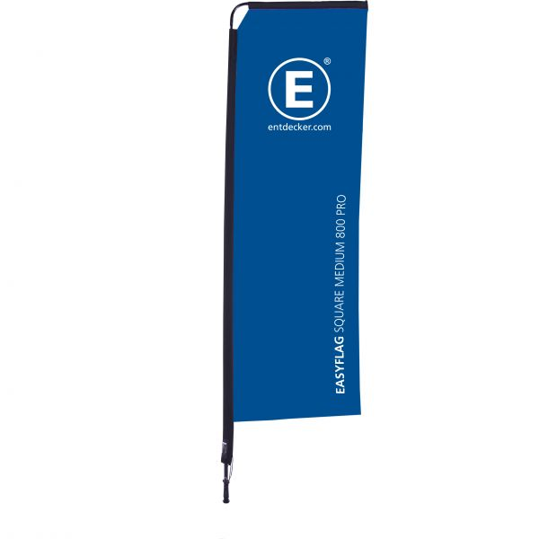 Beachflag Easyflag Square 80 Medium PRO doppelseitig