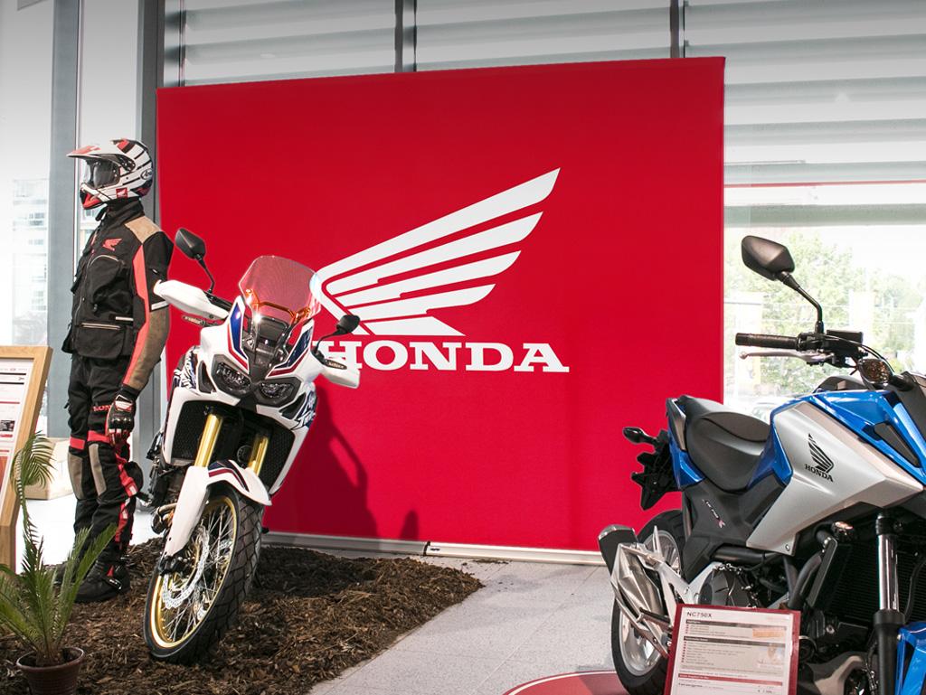 Messewand Easywall Flex Honda