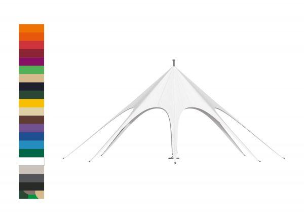 Eventzelt Sternzelt JH Static Dach 10x10 SP Polyester Farbe
