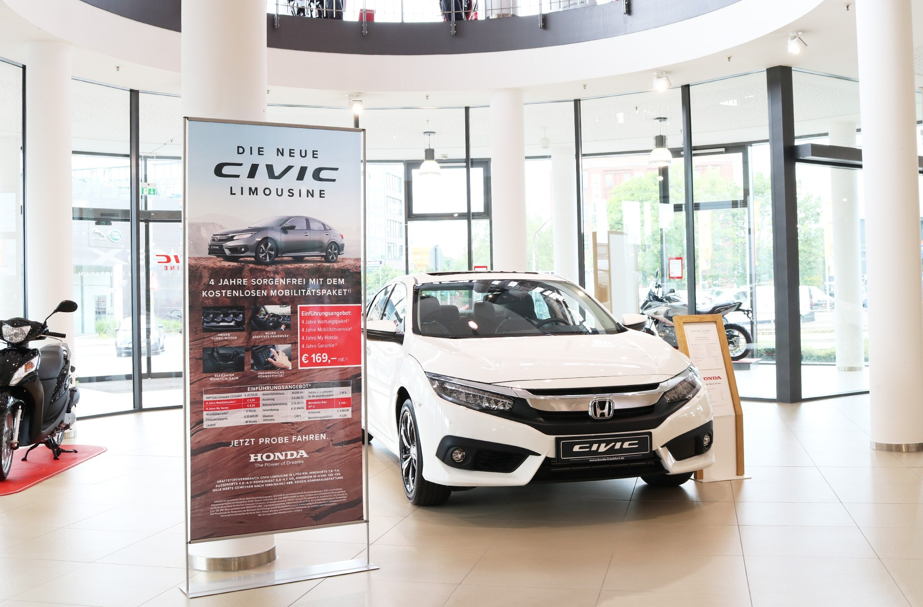 Roll-Up Easymag Stand Honda