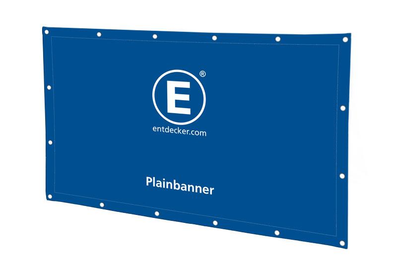 Plain-Banner und Planen