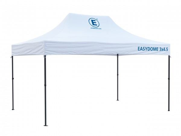 Faltzelt 3x4,5m Easydome ECO - Dach mit Teildruck