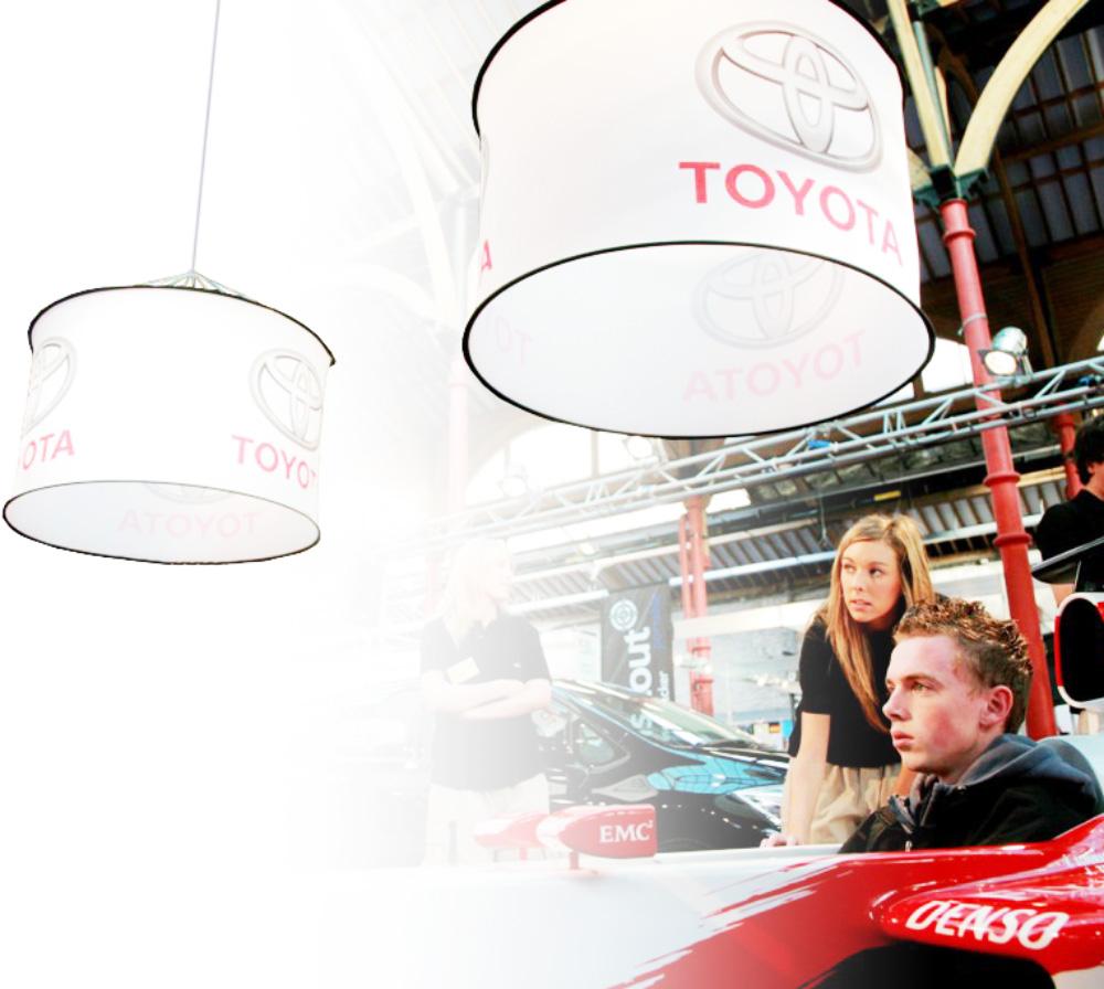 Deckenhaenger Cylindrical Toyota