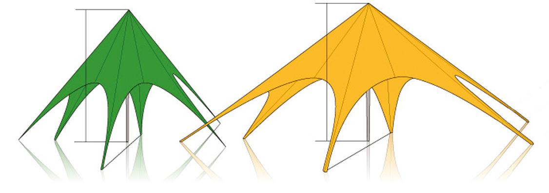 Sternzelt Starfull Design