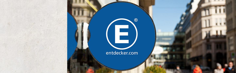 Werbebande Easydisc Flex Stadtansicht