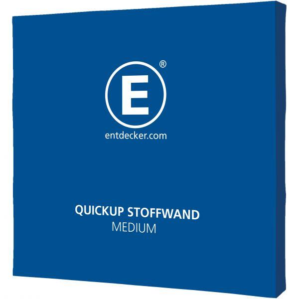 Quickup Stoffwand Stoff Medium Voll, 2-teilig