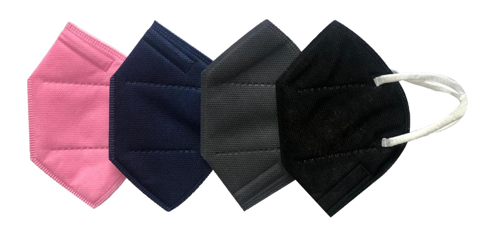 FFP2-Masken in 5 unterschiedlichen Farben