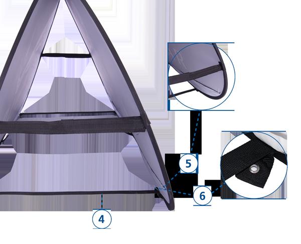 Werbebande Quickboard Detailansicht 2