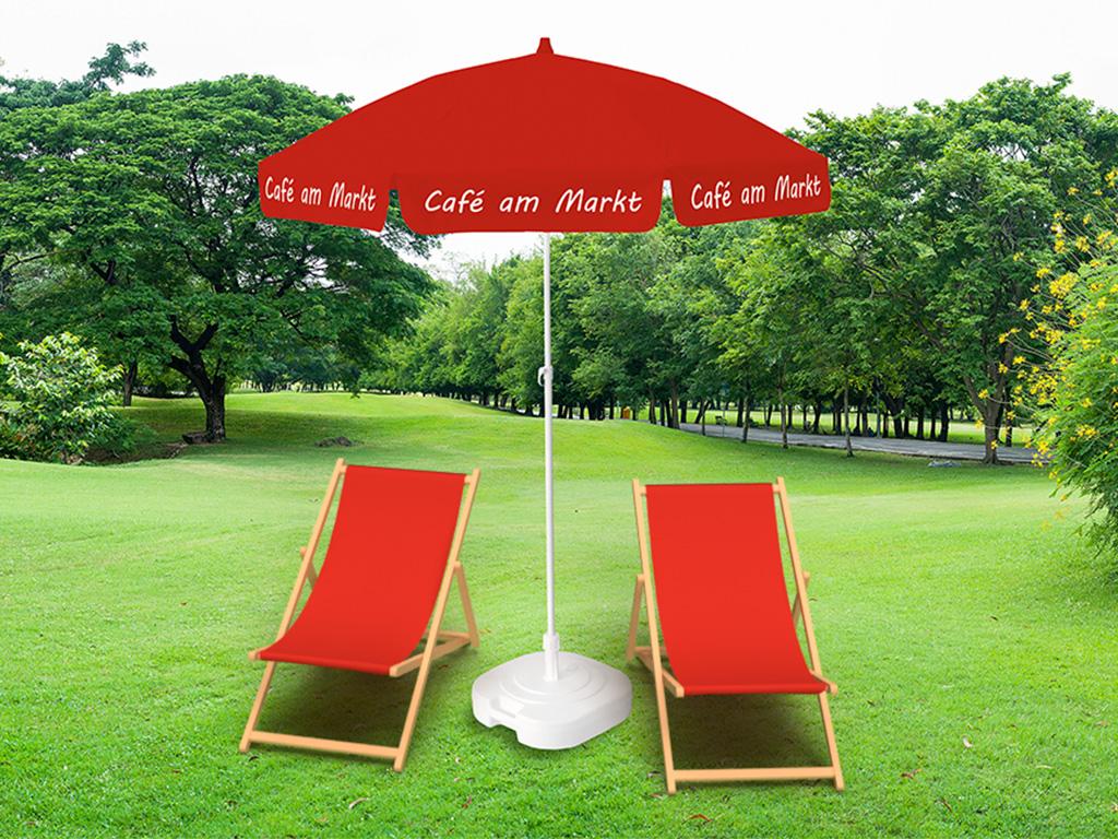 Event Sonnenschirm Cafe