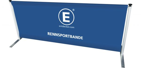 Rennsportbande Set inkl. Tasche aus PVC