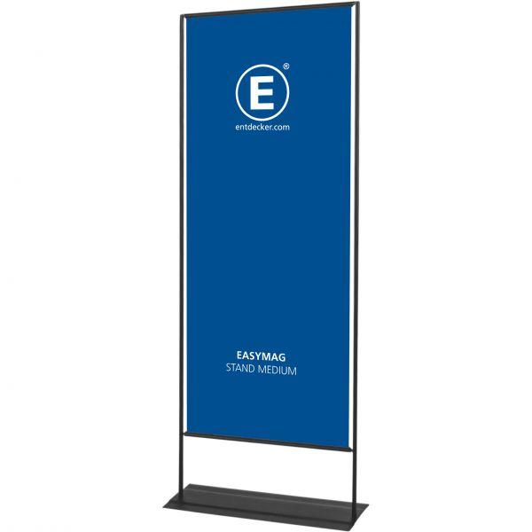 Easymag Stand 200 Medium mit Classic-Fuß inkl. Druck einseitig