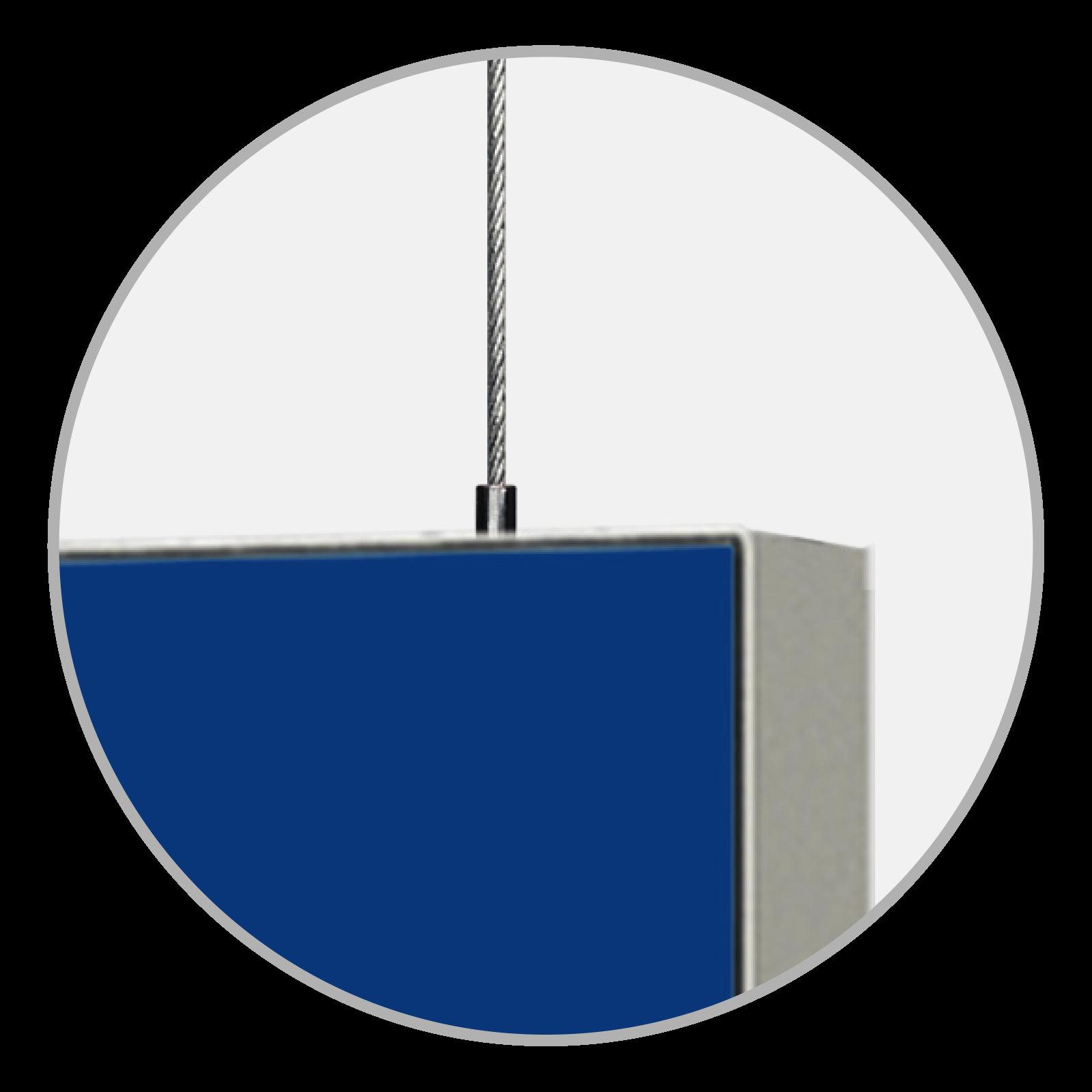Easyframe Detail Aufhängung