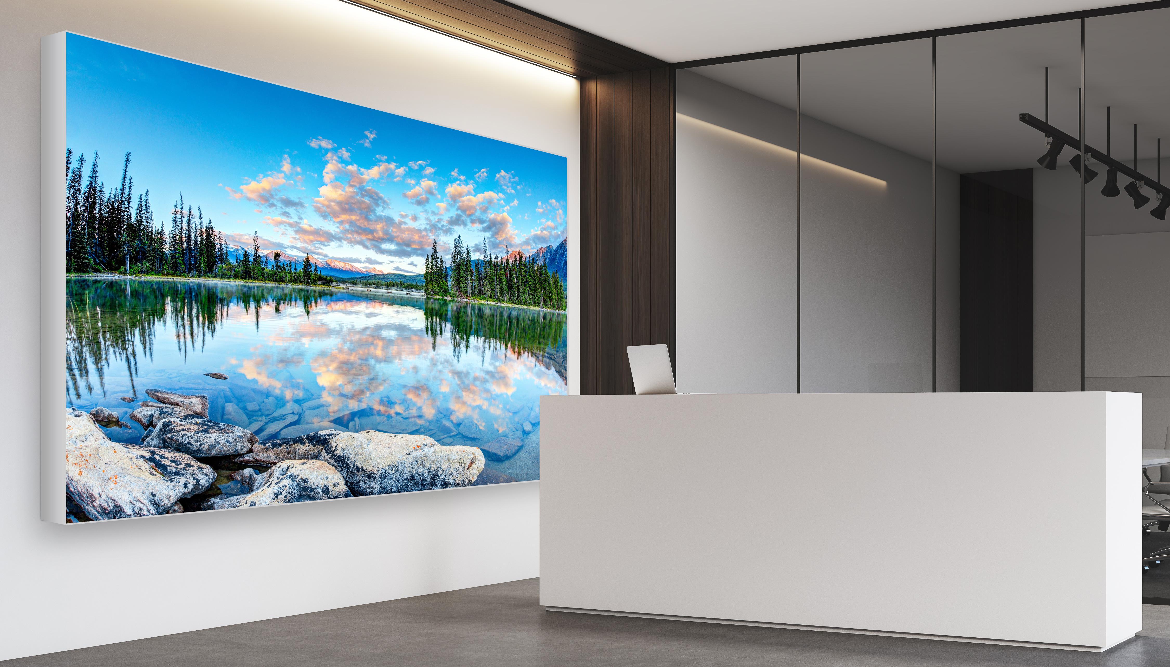 Messewand Easyframe haengend Wand Interior