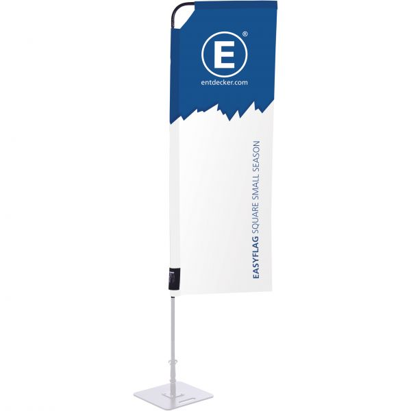 Beachflag Easyflag Stoff Square 55 Small SEASON