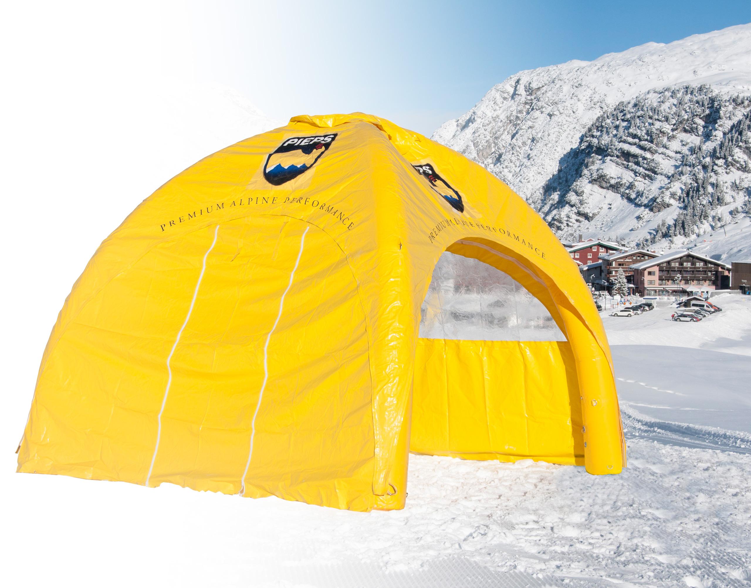 Aufblasbares Zelt Easyroof Pieps