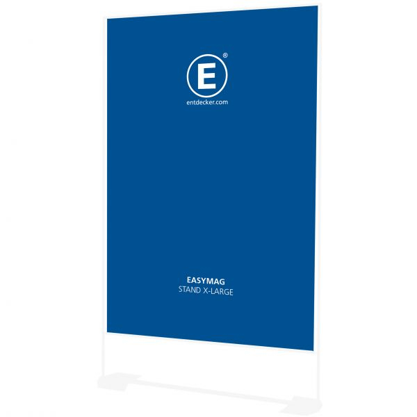 Easymag Stand 200 Banner X-Large inkl. Druck doppelseitig auf 400g Polyester