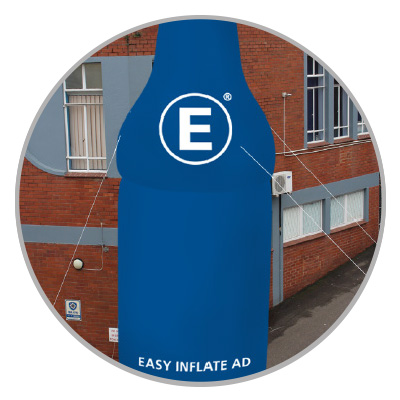 Blow Up Easy Inflate Ad Detail Abspannset