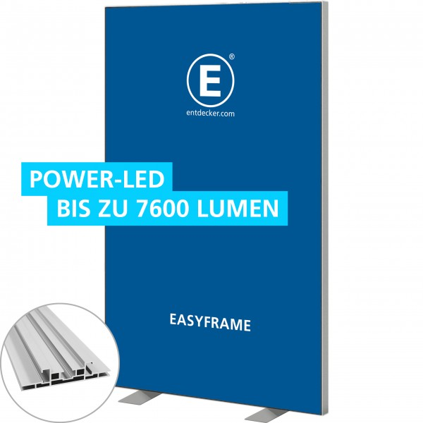 Easyframe 100 Lightbox Double - Aufsteller