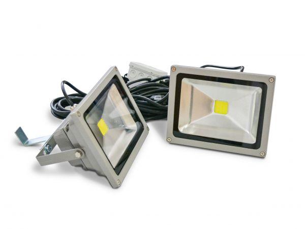 LED Beleuchtung - 2er Strahler