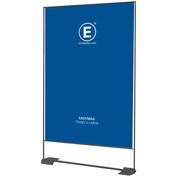 Easymag Stand 200 X-Large mit Wing-Fuß inkl. Druck einseitig