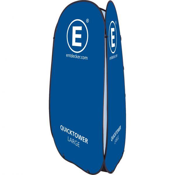 Quicktower Large - inkl. Erdheringe und Tasche