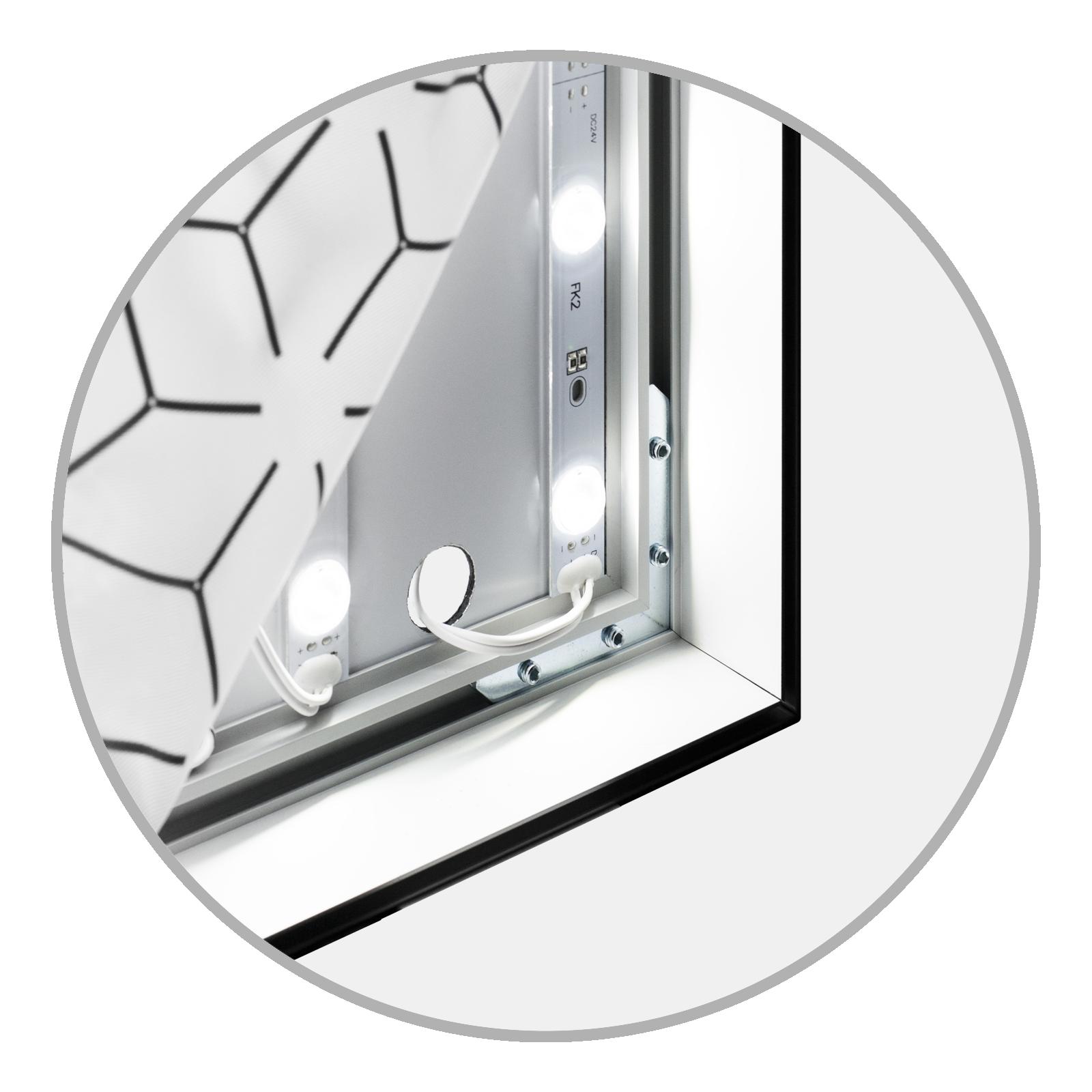 Easyframe Detail LED Dibond