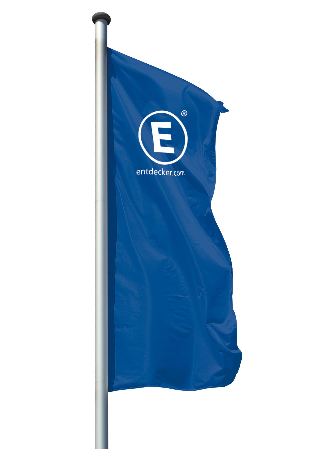 Hissfahne für Ausleger Siebdruck