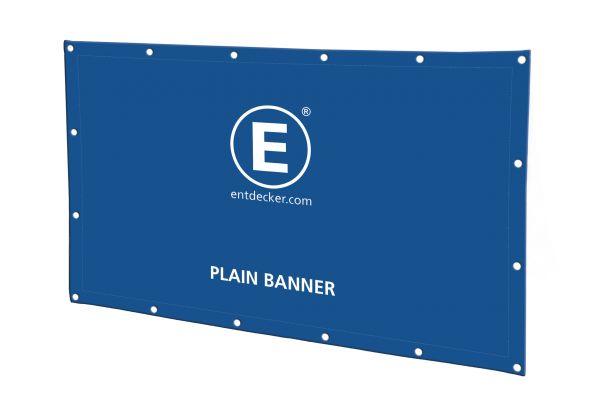 Mesh-Banner mit Kunststoff-Ösen