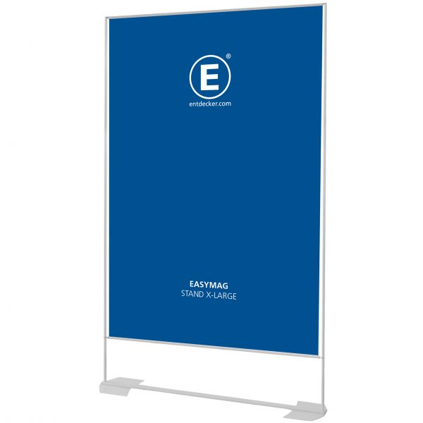 Easymag Stand 200 X-Large mit Wing-Fuß inkl. Druck doppelseitig