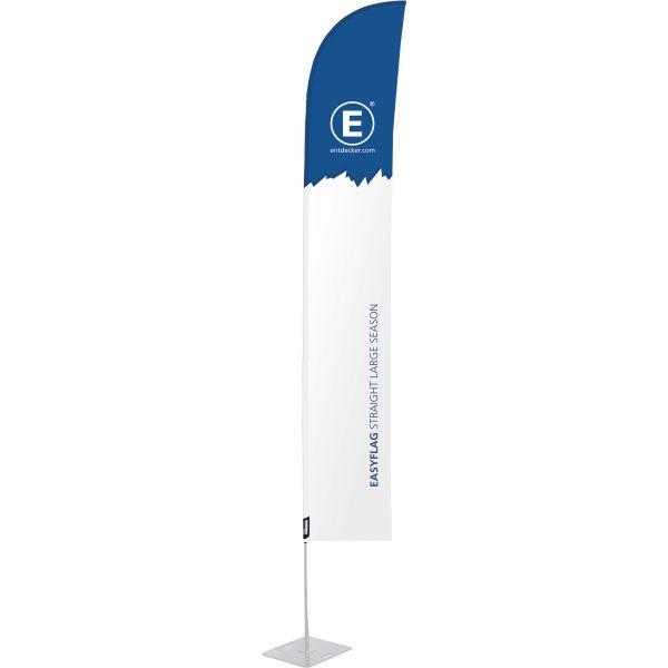 Beachflag Easyflag Stoff Straight Large SEASON