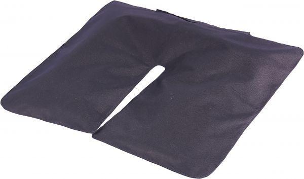 Beachflag Sandsack schwarz