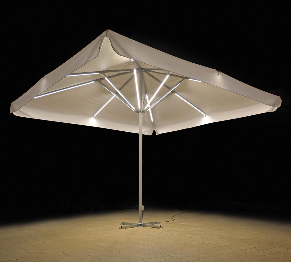 Sonnenschirm Expert LED-Beleuchtung