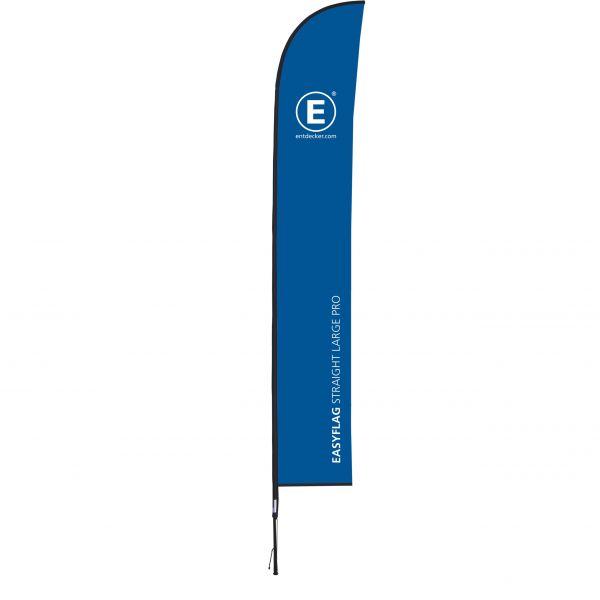 Beachflag Easyflag Straight Large PRO einseitig