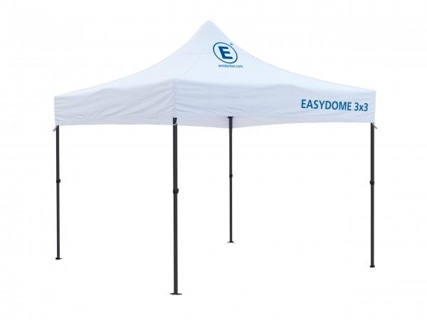 Faltzelt 3x3m Easydome ECO - Dach mit Teildruck