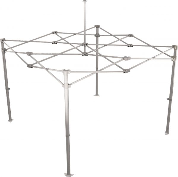 Easydome Aluminium-Gestell S 3 x 3 m