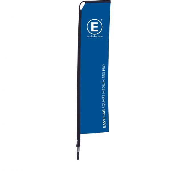 Beachflag Easyflag Square 55 Medium PRO dopelseitig