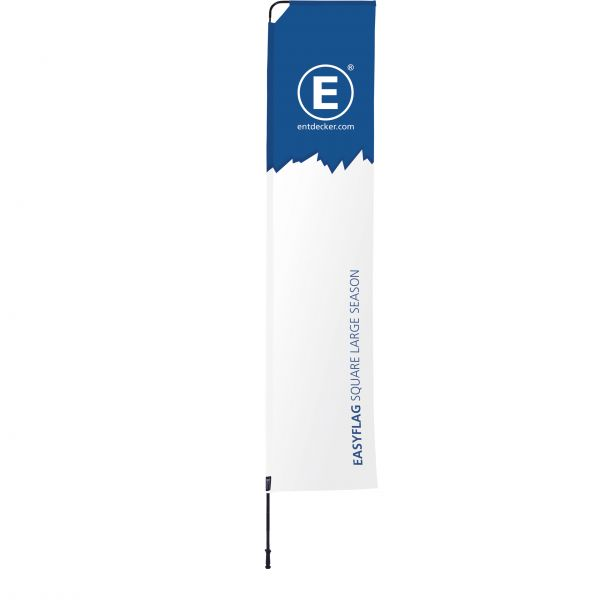 Beachflag Easyflag Set Square 80 Large SEASON